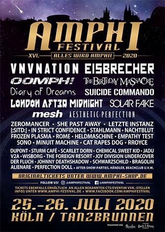 Amphi Festival 2020 abgesagt