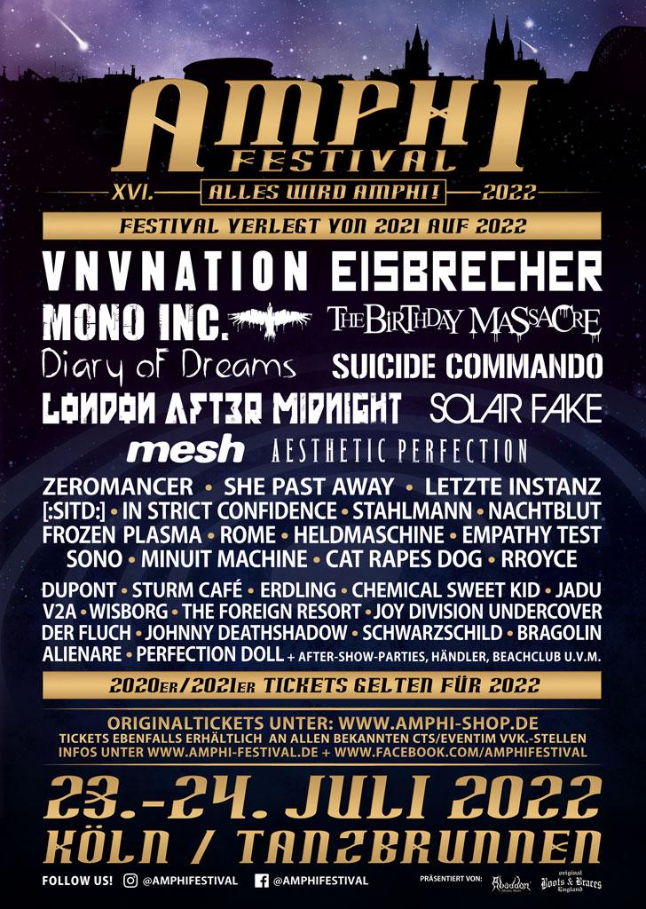 Amphi Festival News
